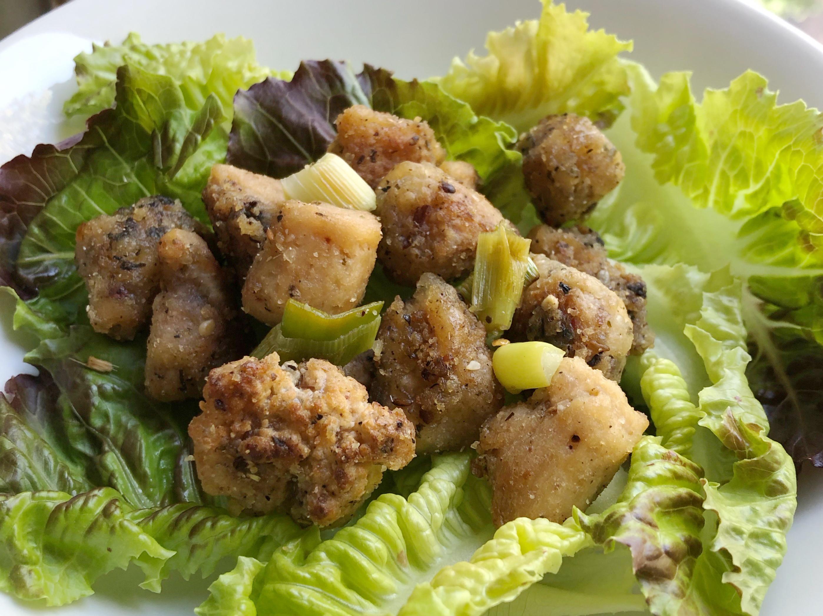 «Poulet» Thaï – végétalien et sans gluten