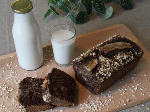 Les duos : Lait d'avoine et Banana's skin bread