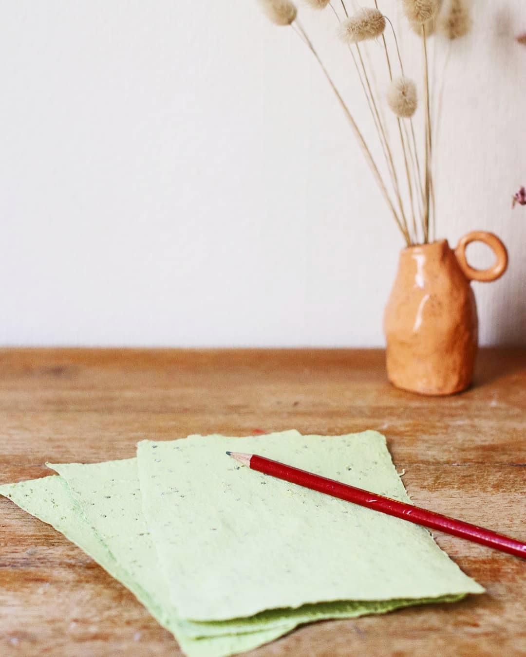 Du papier à faire pousser!
