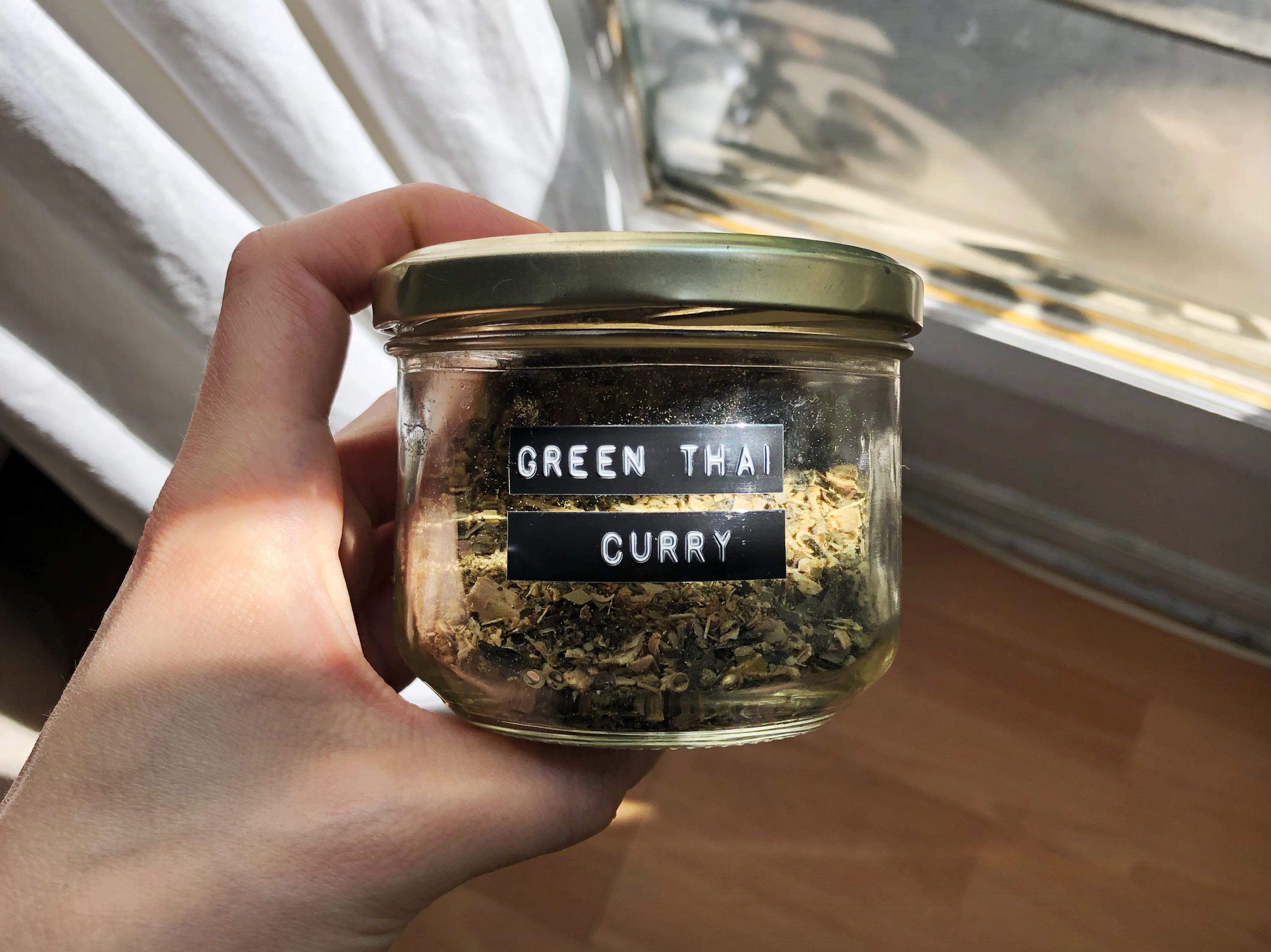 Mélange d'épices – Green Thaï Curry