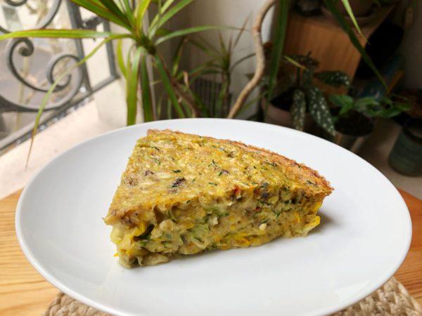 Quiche aux Courgettes – sans pâte