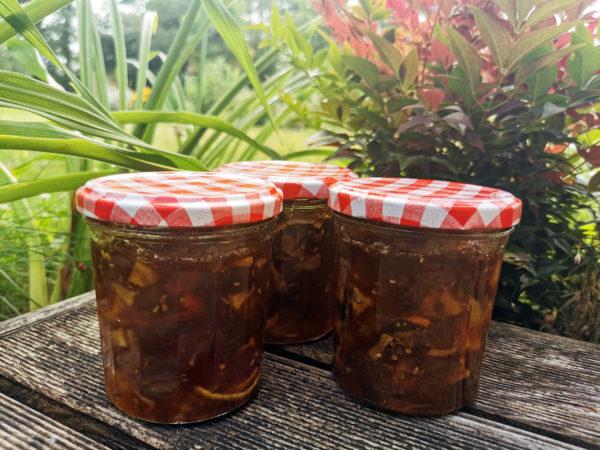Confiture anti-gaspi de tomates vertes à la vanille